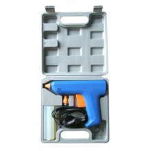 glue gun for artificial stone adhesives black and gray industry use