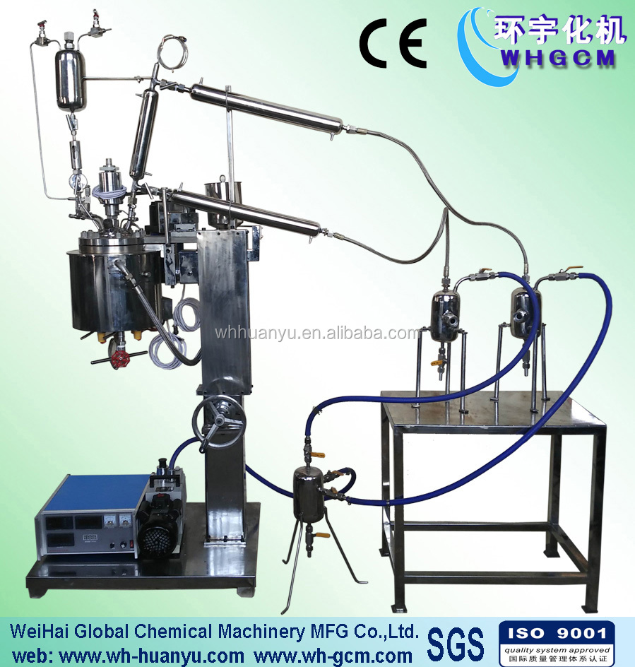 2L Chemical Reactor Distillation Tower