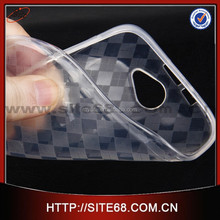 Free sample! Transparent rhombus design TPU cell phone cases manufacturer for BLU ADVANCE4.0 A270A