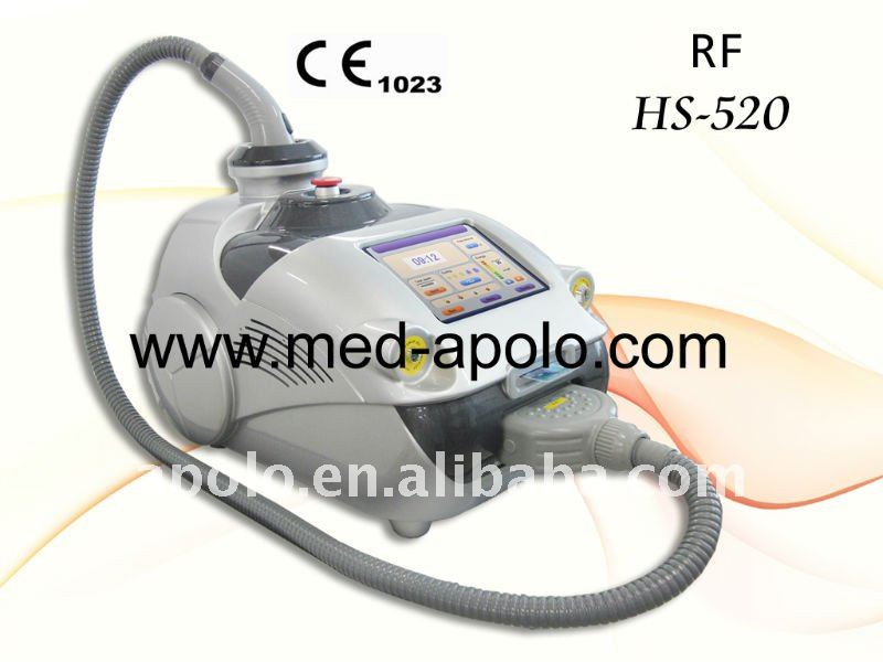 skin tightening radio wave frequency machine portable radio frequency face lift device HS 520 by shanghai med apolo medical tech