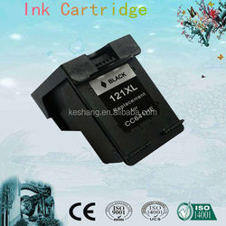 Alibaba compatible 121 ink cartridge for hp Deskjet F2560/2568/4280/4238/4288 printer guangzhou factory