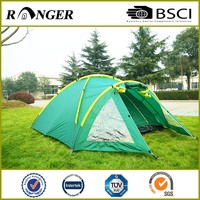 Customizable Double Layer Modern Round Camping Tent