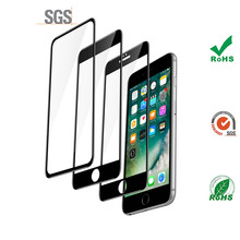 9h hardness tempered glass for iphone 5 screen protector apple 6 pertect 3d curved