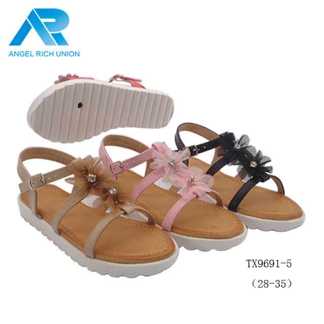 2018 new wholesale shoes girls school women fashion sandals footwear