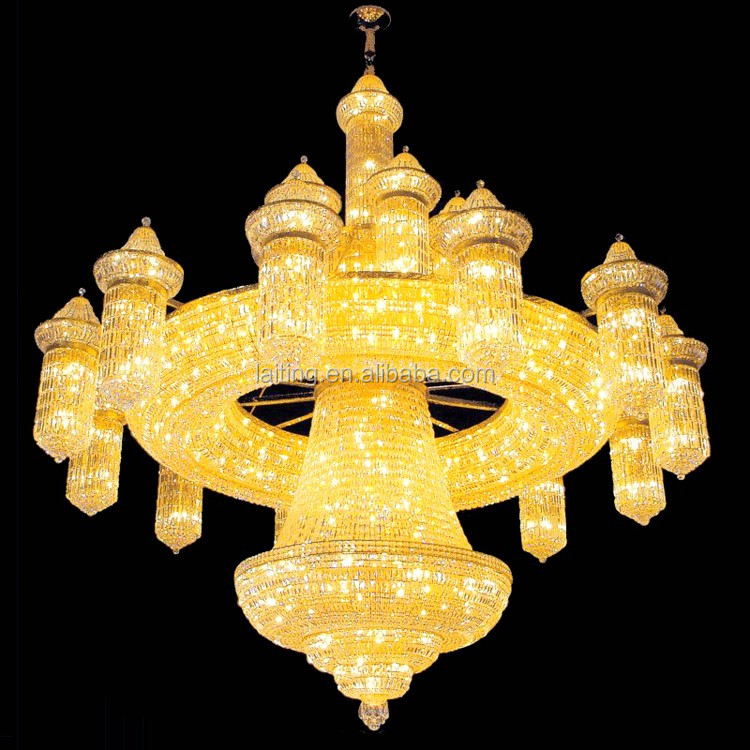 Luxurious Atmosphere Hanging Lamp Novel Style Crystal Chandelier For Villa