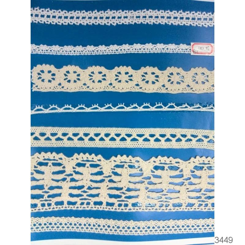 In Stock cotton Crochet Lace Edging Pattern
