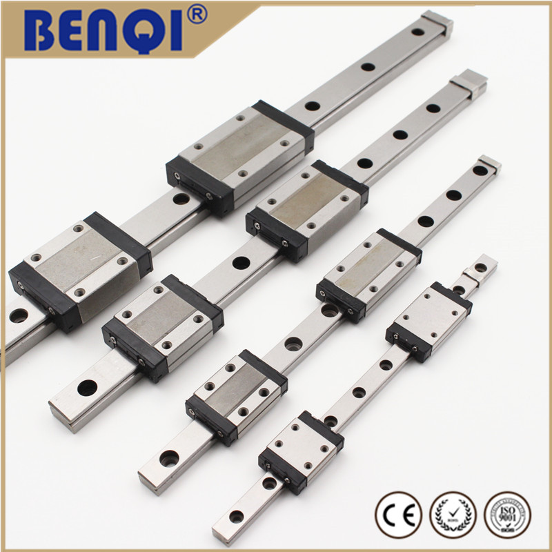 Miniature lm iko linear guide MGW15H series with a slider