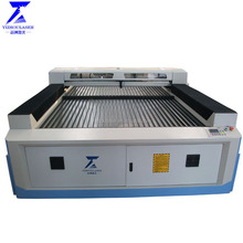 China Low cost plastic flatbed 1325 co2 cnc laser cutting machine price for sale in philippines