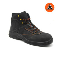 Men Safety Shoes Industrial Leather Safety