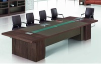 2015 commercial luxurious office customised meeting table for 10 people mdf wood desk origin item TC 31