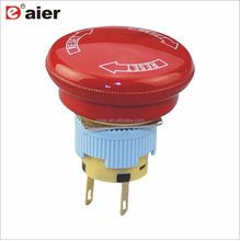 high quality Arrow red ip65 mechanical emergency stop aluminium <strong>switch</strong>