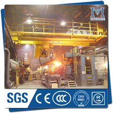 Economic QDY overhead crane with double hook for casting workshop