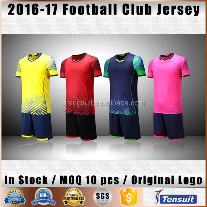 soccer jersey for man and women home and away version thai kids football shirt,kinds of sports wear good quality for wholesale
