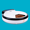 Petwant 5-Meal Pet Feeder for Semi-wet Food Cat Feeder