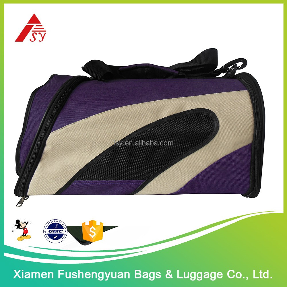 Hot China products wholesale 600D polyester convenient pet carry bag for travel / pet cage