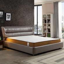 Bedroom furniture soft jacquard fabric bonnel spring mattress