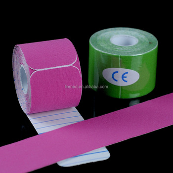 ISO CE and US-FDA tape kinesiology Your logo