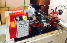 CJ0618 Mini Lathe Machine Mini Torno metal with lowest price