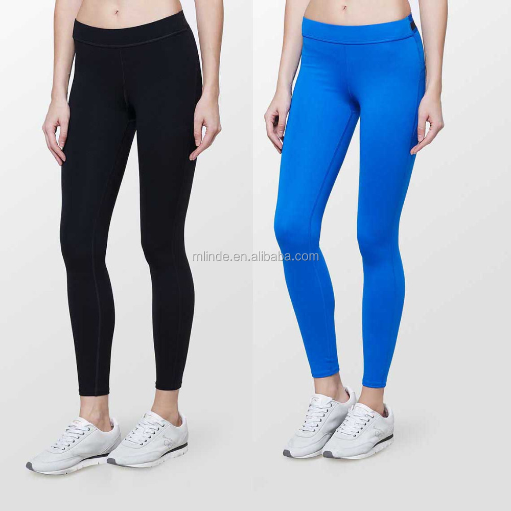 Women's Knitted Pants Plain Dyed Tight Fit Yoga Leggings for Sportwear Women Ladies Girls Wholesale