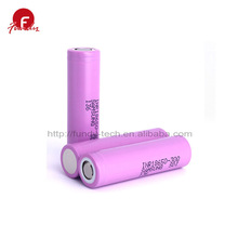 Lithium Battery 100% Genuine 30Q 3000mAh Rechargeable Powered Samsung Battery 3.7 v Li ion