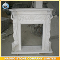 High Quality White Modern Fireplace modern carved for sale