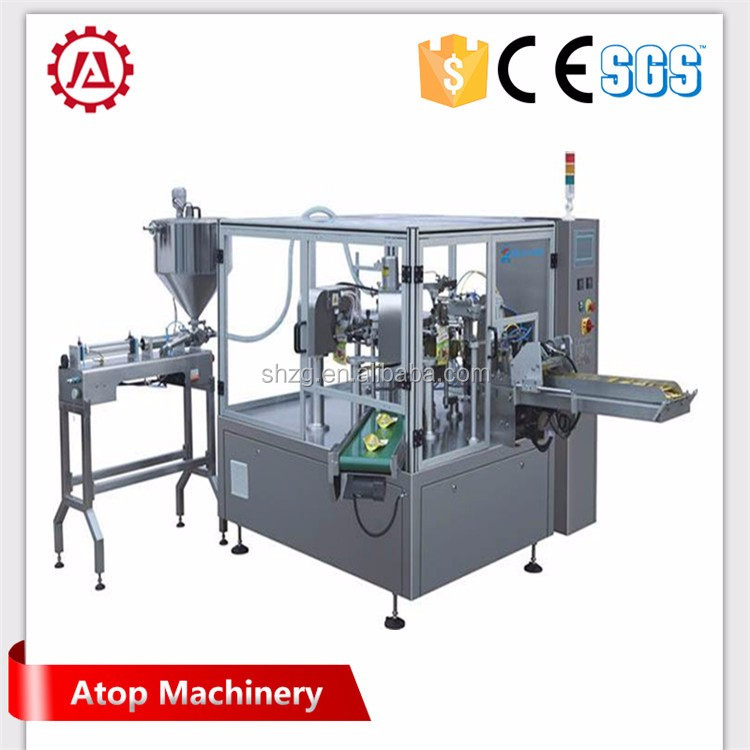 Automatic modified atmosphere coffee bag packing machine
