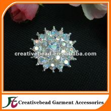 Rainbow Crystal Rhinestone Brooches For Wedding