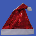 Promotional Plush Christmas Santa Hat Costume