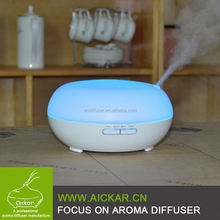 200ml Wood Grain Aroma Diffuser Ultrasonic Mist Essential Oil Cool Diffuser with Timer