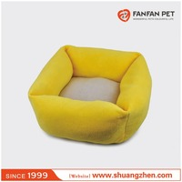 Sweet High Quality yellow Luxury Pet Dog Sofa Bed