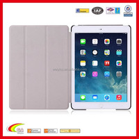 colorful folio stand pu leather case cover for ipad air 2 for ipad air smart case
