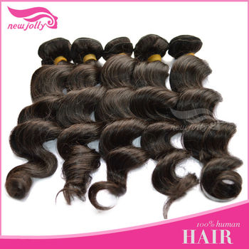 12-24 inch Wavy and Straight Peruvian Virgin human hair weaving in China