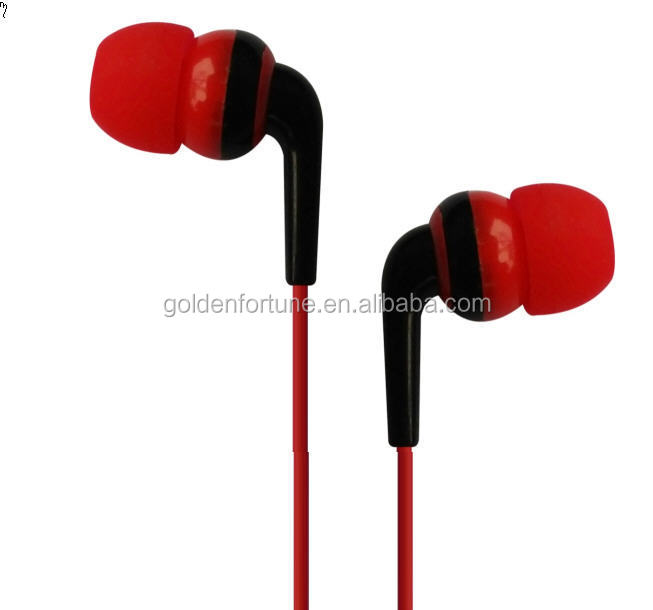 3.5 mm in ear headphone with micophone for mp3 headphone