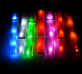 paypal accept colorful RGB led flashing bracelet sound motion activated led bracelet