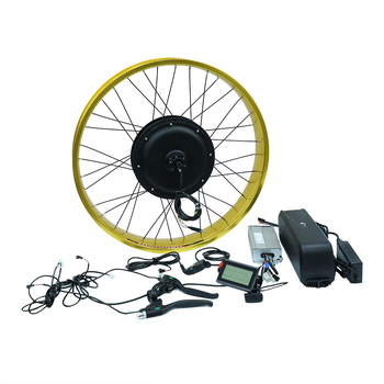 hot selling fat tire 48v1000w gearless brushless hub motor conversion kit