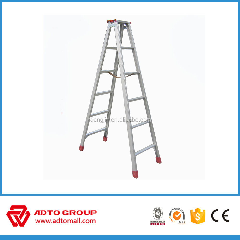 ADTO factory price aluminum step ladder,a type step laddder,manhold ladder step