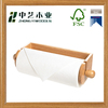Hot Selling Wooden Kitchen Paper Roll Holder wooden toilet roll holder
