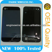 wholesale for iphone 5 style housing for iphone 4s back cover glass