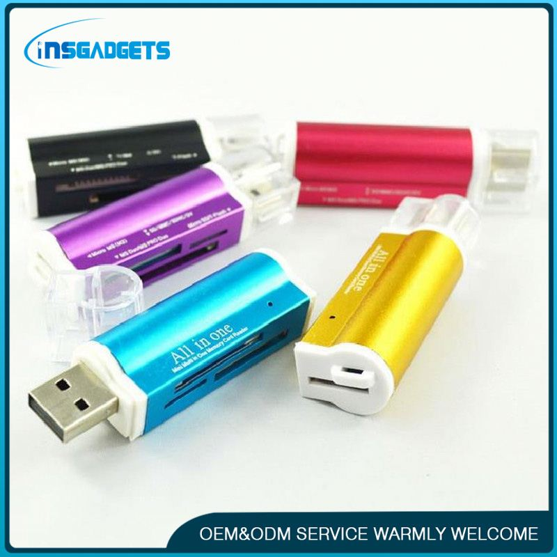 New hot selling products h0tLqu aluminium card reader for sale