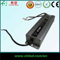 OEM High Efficiency IP67 waterproof DC 12v 10 amp led transformer with CE ROHS 2 years warranty
