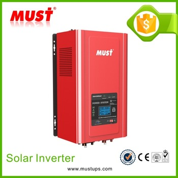 MUST HOT SALE!!! 1000w 2000w 3000w 4000w 5000W 6000w pure sine wave mppt solar inverter/charger