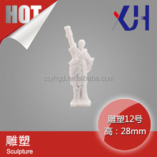 ho scale outdoor female figure model sculpture for sale