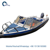 Cheap boat with outboard engine private yacht luxury boat