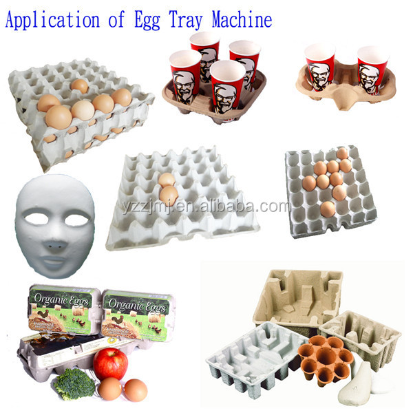 Automatic Paper Pulp Egg Tray Making Machine Price 2000-2500 pieces/hour