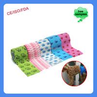 china supplier veterinary products elastic adhesive cohesive bandage