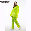 cheap price eva plastic ladies rain coats rain suit pants