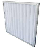 Clean Room AC Pleated Pre Air Filter