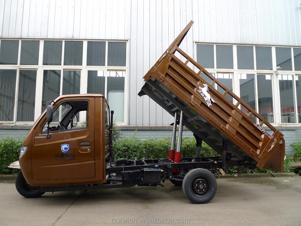 adult big wheel farming tractor tipper cargo tricycle
