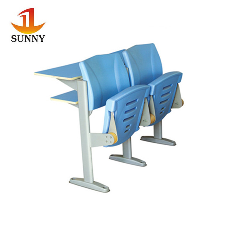 High quality manufacture metal school desk with chair