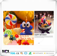 Good price of candle Lollipop shapes candles for birthday party wedding